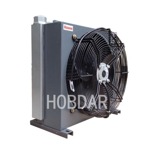 压铸机为什么选择了风冷作为压铸机的液压油散热器图片
