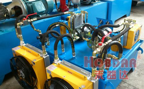 液压站系统选用水冷却器还是风冷却器?