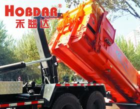 风冷却器HD1018T在可移动式垃圾压缩箱上的使用